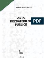 Arta Dezbaterilor Publice - C. Salavastru