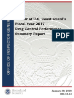 OIG Coast Guard Drug Control 2017