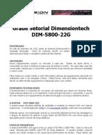 Avaliacao Dimension Grade 22dBi