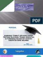 PPT Gambaran Tingkat Kepuasan Pasien Tentang Pelayanan Tenaga Kesehatan Di Puskesmas