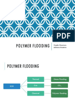 Polymer flooding in heavy oil