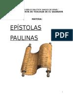 Folleto de  Ep+¡stolas Paulinas.doc