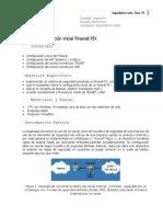 Tema- Configuración Inicial Firewall PIX