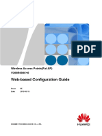 Wireless Access Points(Fat AP) V200R008C10 Web-based Configuration Guide