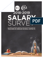2018-19 Oregon School Boards Association Salary Survey Book