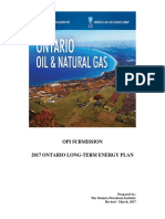 Opi Submission 2017 Ontario Long Term Energy Plan