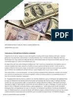 Reforma Monetaria_ Dolaración vs. Sistema Bimonetario