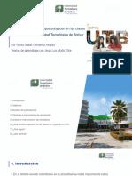 Teorías de aprendizaje que subyacen en las clases de inglés de la  Universidad Tecnológica de Bolívar.