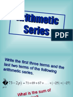 1 4 Arithmetic Series