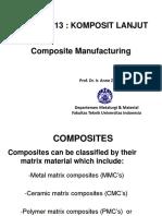 Manufacturing Composites