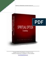Spiritual Option E-workshop