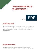 Propiedades Generales de Los Materiales Clase 1