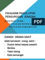 PENGURUSAN JENAZAH WANITA.ppt