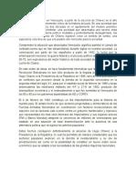 Introduccion El Proceso Bolivariano en Venezuela