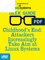 attack aim at linux system