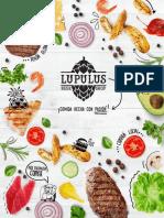 Lupulus Beer Shop Menú de Comidas