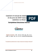 Manual de Instalacion Cubecart en Castellano