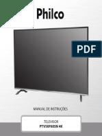 Manual Tv Ptv50f60sn 4k