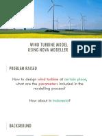 wind turbin model