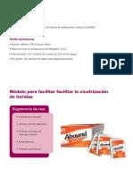 Nutricion (adulta e infantil) - Cicatrizacion de heridas - ABOUND.pdf