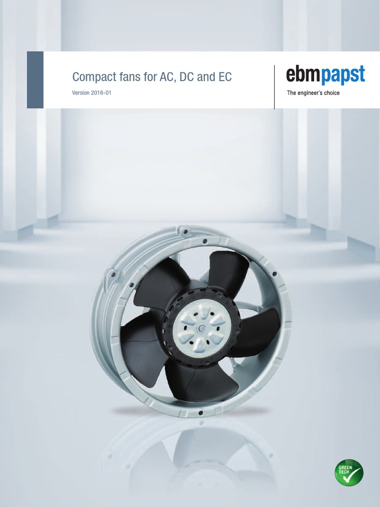 Ball 230 VAC, Tubeaxial Square 5600 Series EBM PAPST    5656S    Axial Fan