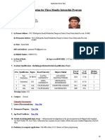 Lok Sabha Application Form View