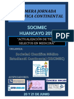 1primera Jornada Científica Continental 2015
