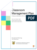 Lesson Planning and Classroom Management Plan for Public Elementary Schools in Mexico