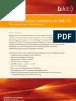 Programm Politische Kommunikation