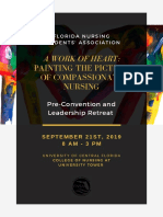 Pre-Convention 2019 Flyer