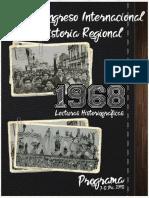Programa Congreso Historia 20018