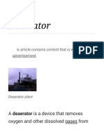 Deaerator