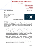 IATA Letter to CMD