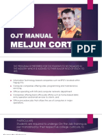 MELJUN CORTES OJT 2019 Manual