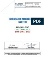 Integrated Management System FSMQC