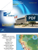 Cancer en El Peru 2014 Inen