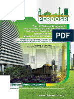 Second Announcement Pit Xviii Perdosri 2019-20-23 Nov 2019
