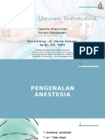 anestesi umum iv