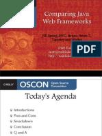 ComparingJavaWebFrameworks-OSCON2007
