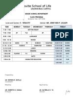 4-6 Class Program