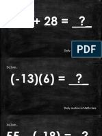 Quiz 2 Arithmetic Sequence and Means