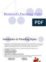 Baumrind's Parenting Styles (1)