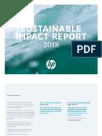 HP Sustainability Impact Report 2018