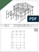 Gambar kerja 3D baja