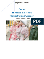 Curso História da Moda