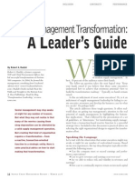 02. Supply Chain Transformation - A Leader's Guide