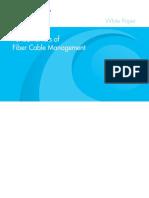 Fiber cable management