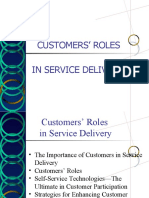 Customers Roles