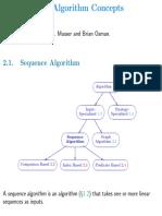 Sequence Algorithms Screen