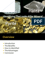 Identifying Calcite vs Halite
